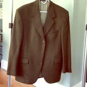 Andrew Fezza Chocolate Brown Cashmere sport coat
